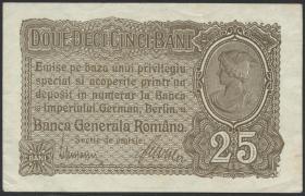 R.472a: Besetzung Rumänien 25 Bani 1917 (1/1-)