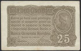 R.472b: Besetzung Rumänien 25 Bani 1917 (1-)