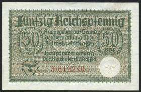 R.550a:  50 Rpfg. (1939) Reichskreditkasse (3)