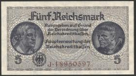 R.553b:  5 Reichsmark (1939) Reichskreditkasse (1)