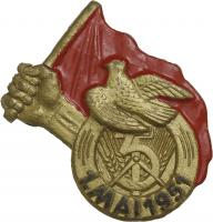1. Mai Abzeichen 1951