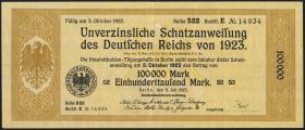 100.000 Mark Schatzanweisung 1923 (2)