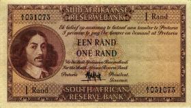 Südafrika / South Africa P.103a 1 Rand (1961) (Afrikaans) (3)