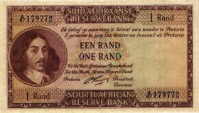 Südafrika / South Africa P.103b 1 Rand (1962-65) (Afrikaans) (2+)