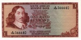 Südafrika / South Africa P.109b 1 Rand (1967) (Englisch) (1)
