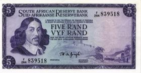 Südafrika / South Africa P.111c 5 Rand (1975) (Englisch) (2)