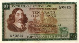 Südafrika / South Africa P.113a 10 Rand (1966) (Englisch) (3)