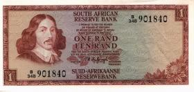 Südafrika / South Africa P.115b 1 Rand (1975) (2)