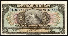 Haiti P.170 1 Gourde L.1919 ()