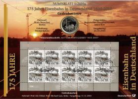 2010/5 175 Jahre Eisenbahn in Deutschland 1835-2010 - Numisblatt
