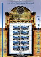 2011/6 100 Jahre Hamburger Elbtunnel - Numisblatt
