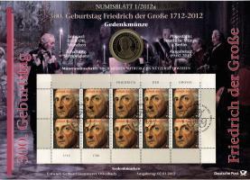 2012/1 300. Geburtstag Friedrich der Große 1712-2012 - Numisblatt