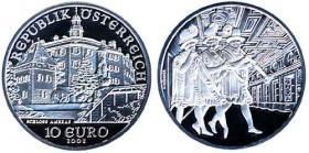 Österreich 10 Euro 2002 Schloß Ambras, PP