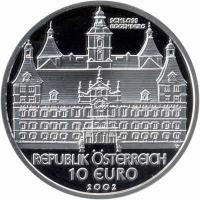 Österreich 10 Euro 2002 Schloß Eggenberg, PP