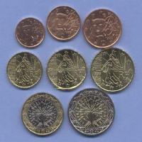 Frankreich Eurokursmünzen (lose)