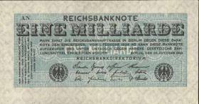 R.119a: 1 Milliarde Mark 1923 (1)