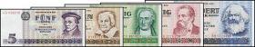 R.359-363 Der letzte Banknotensatz der DDR (5 Werte) (1)