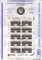 1998/1 Westfälischer Friede - Numisblatt