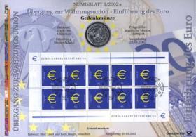 2002/1 Einführung des Euro - Numisblatt