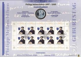 1997/1 Melanchthon - Numisblatt