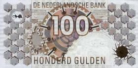 Niederlande / Netherlands P.101 100 Gulden 1992 (1)