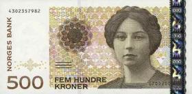 Norwegen / Norway P.51a 500 Kronen 1999 (1)