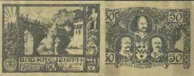 Notgeld Bad Kreuznach 50 Pfennig 1918