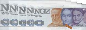 Testbanknoten DM-Währung (NGZ)