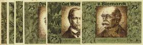 Notgeld Kolonien Deutsch-Hanseatischer Kolonialgedenktag Serie B