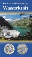 Österreich 5 Euro 2003 Wasserkraft, im Folder