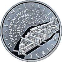 Deutschland 10 Euro 2002 Museumsinsel PP