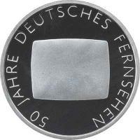 Deutschland 10 Euro 2002 Fernsehen PP