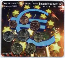 A-025a Euro-KMS 2003 A Happy Birthday Euro/ Japan