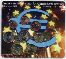 A-025a Euro-KMS 2003 A Happy Birthday Euro/ Japan