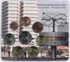 A-029 Euro-KMS 2003 A Historische Motive: Alexanderplatz