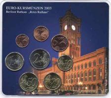 A-028 Euro-KMS 2003 A Historische Motive: Rotes Rathaus