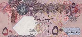 Qatar P.23 50 Riyals (2003) (1)