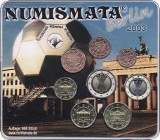 D-051 Euro-KMS 2003 D Numismata München in Berlin