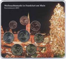 A-050 Euro-KMS 2003 A Weihnachtsmarkt in Frankfurt