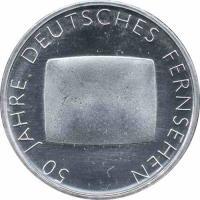 Deutschland 10 Euro 2002 Fernsehen stg