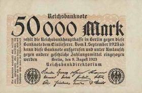 R.098: 50000 Mark 1923 (1-)