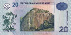 Surinam / Suriname P.159 20 Dollars 2004 (1)