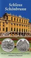 Österreich 10 Euro 2003 Schloß Schönbrunn, im Folder