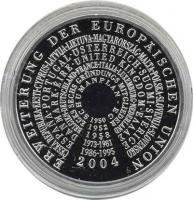 Deutschland 10 Euro 2004 EU-Erweiterung PP