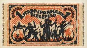 Notgeld Bielefeld 1 Mio. Mark 1923