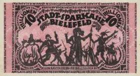 Notgeld Bielefeld 10 Mio. Mark 1923