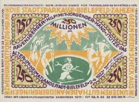 Bielefeld 250 Millionen Mark 1922
