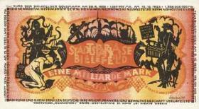 Bielefeld 1 Milliarde Mark 1923
