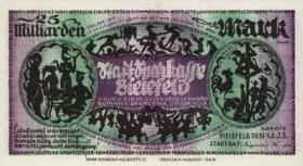 Bielefeld 25 Milliarden Mark 1923