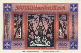 Bielefeld 500 Milliarden Mark 1922 (1)